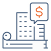 Icône Expertise Immobilière et financement de bien