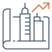 Icône performance immobilière