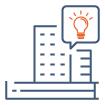 icone études immobilières et conseil pour les entreprises