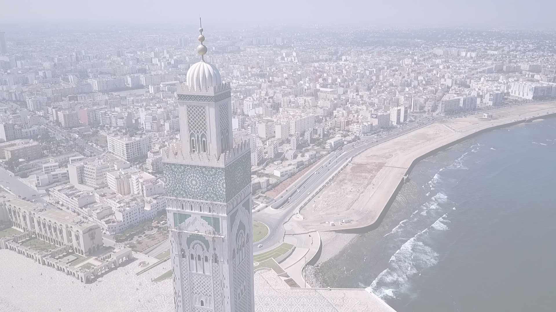 La ville de Casablanca