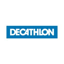 Logo Décathlon, client service salariés expatriés