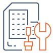 icone représentation la gestion à maîtrise d'ouvrage dans une projet immobilier
