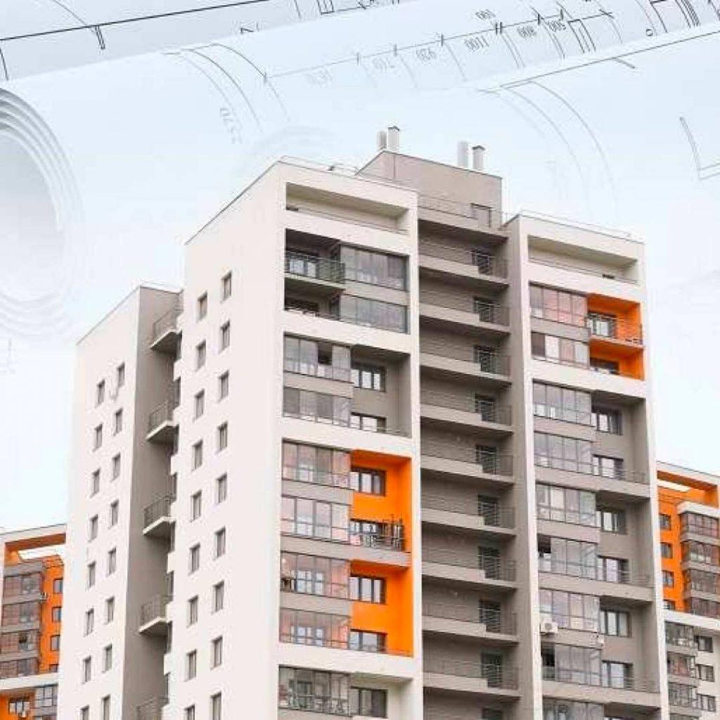immeuble représentant le marché de l'immobilier au Maroc