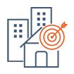 icone représentant la stratégie marketing pour commercialiser des programmes immobiliers
