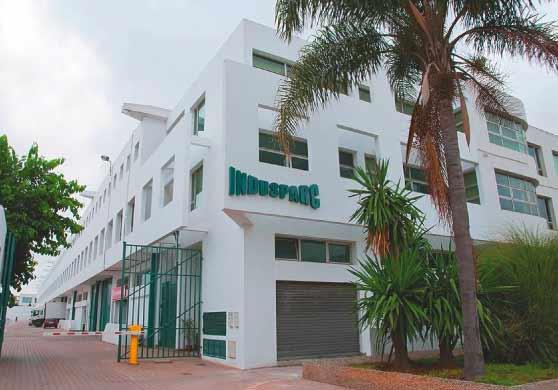 Indusparc, parc d'activités, entrepôts à louer à Casablanca
